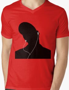 Tunes Mens V-Neck T-Shirt