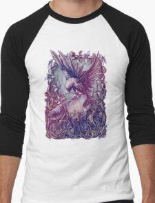 Romance Wolf Men's Baseball ¾ T-Shirt