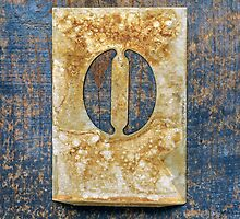 Letter O by Ricard Vaqué