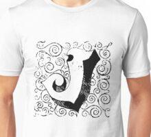 Block Alphabet Letter J Unisex T-Shirt