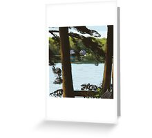 Highland Deck View Greeting Card