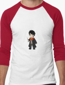 Chibi Harry Potter Men's Baseball ¾ T-Shirt