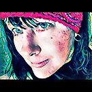 Anzac Day Self Portrait  by Anthea  Slade