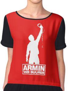Armin van Buuren Funny Chiffon Top