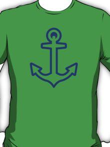 Blue anchor logo T-Shirt