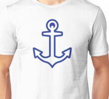 Blue anchor logo Unisex T-Shirt