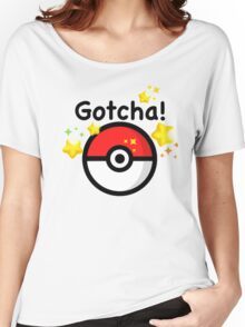 Pokemon go - Gotcha - pokeball Women's Relaxed Fit T-Shirt