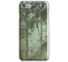 Mystery magical forest iPhone Case/Skin