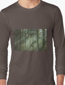 Mystery magical forest Long Sleeve T-Shirt