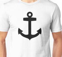 Black anchor Unisex T-Shirt