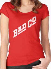 BAD CO COMPANY Women's Fitted Scoop T-Shirt