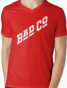 BAD CO COMPANY Mens V-Neck T-Shirt