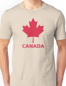 Canada flag maple leaf Unisex T-Shirt