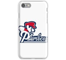 The New England Plumbers! iPhone Case/Skin