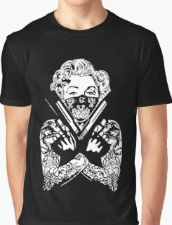 Badass Monroe Graphic T-Shirt