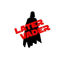 Later Vader Photographic Print