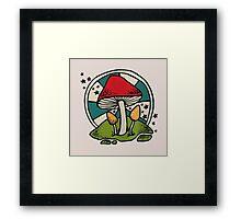 Mushroom Framed Print