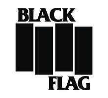 Black Flag Shirt Photographic Print