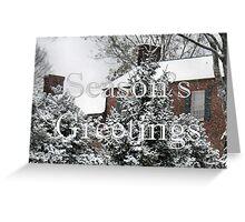Home for Christmas, Christmas Card Greeting Card