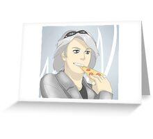 Quicksilver Greeting Card