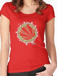 The Grass is Always Greener Women's Fitted Scoop T-Shirt