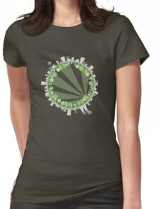 The Grass is Always Greener Womens Fitted T-Shirt