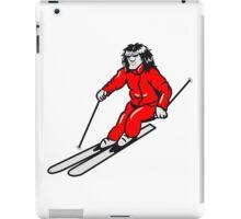 Winter Urlaub ski sport  iPad Case/Skin
