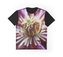 Clematis curls Graphic T-Shirt
