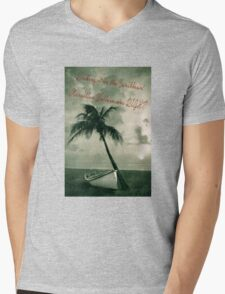 Kicking it in the Caribbean! Mens V-Neck T-Shirt