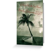 Kicking it in the Caribbean! Greeting Card