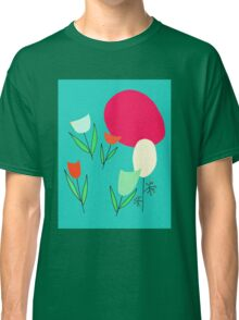 tulips in retromood 2 Classic T-Shirt