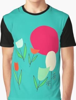 tulips in retromood 2 Graphic T-Shirt