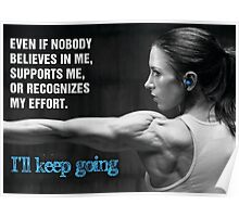 I'll Keep Going Poster