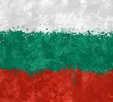 Bulgaria Flag Grunge by GrizzlyGaz