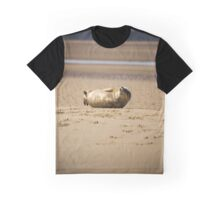Cute Chuckling Seal Pup Graphic T-Shirt