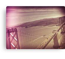 Aerial Dimensions SF Bay Area  Canvas Print