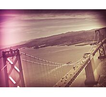 Aerial Dimensions SF Bay Area  Photographic Print