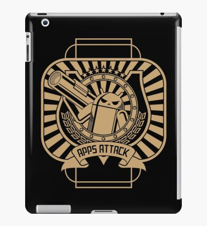Apps Attack iPad Case/Skin