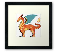 Charizard horse Framed Print