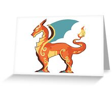 Charizard horse Greeting Card
