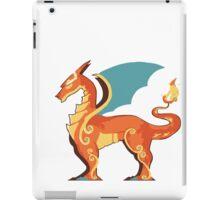Charizard horse iPad Case/Skin
