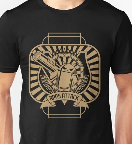 Apps Attack Unisex T-Shirt