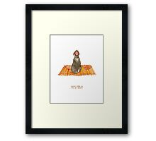 cattism 32: never take no for an answer Framed Print