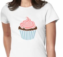 Cupcake frosting Womens Fitted T-Shirt