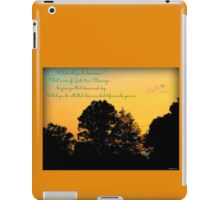 Reflections At The End of the Day iPad Case/Skin