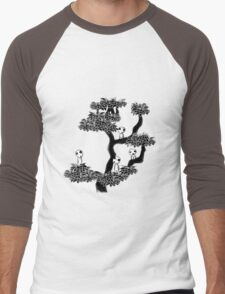 Kodama Tree Men's Baseball ¾ T-Shirt