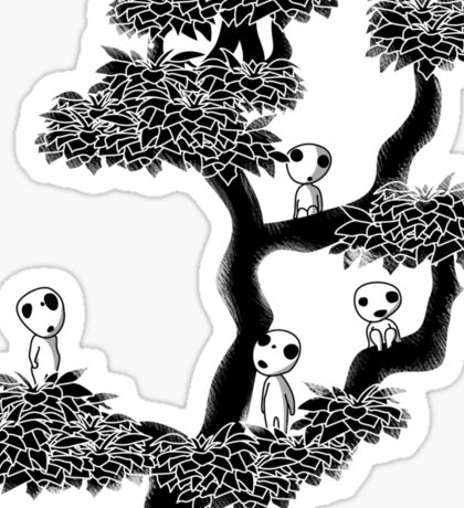 Kodama Tree Sticker