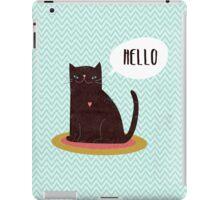 Hello Catty iPad Case/Skin