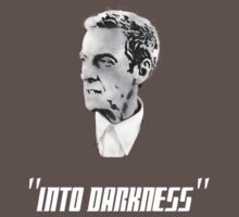 """Peter Capaldi """"Into darkness"""" (White) by TheFrenchArtist"""