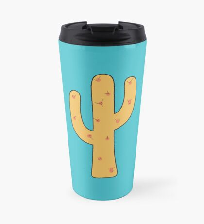 Cactus Against the Desert Sky Travel Mug